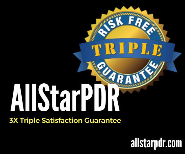 triple satisfaction guarantee