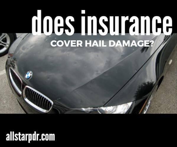Hail Damage Claims Comprehensive Vs Collision