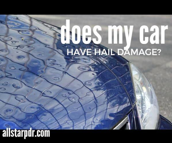 hail damage inspection