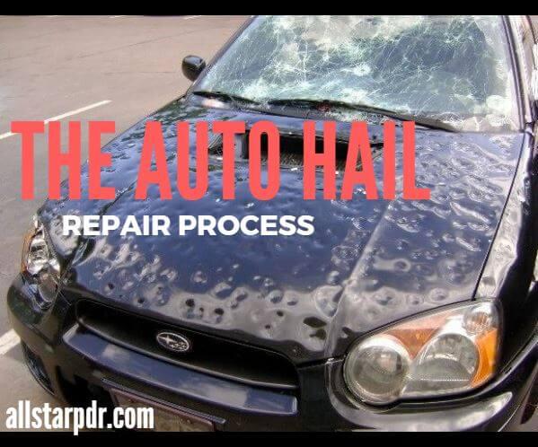Hail Damage Car >> Hail Damage Repair Process All Star Pdr Dallas Tx