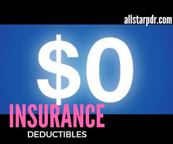 insurance deductibles
